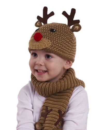 Mud Pie Reindeer Knitted Hat - coolthings.us