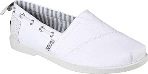 BOBS from Skechers Women's Chill Luxe Traveler Flat