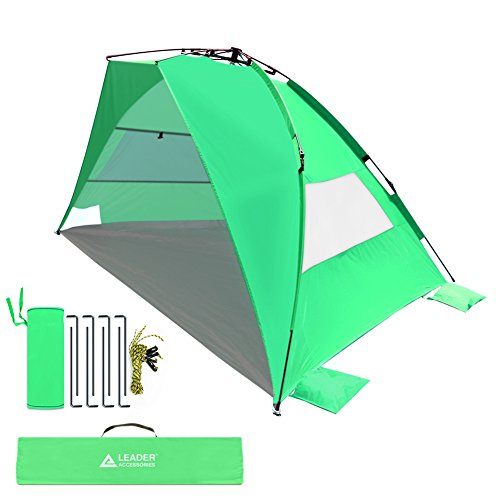Leader Accessories EasyUp Beach Tent Quick Caba...