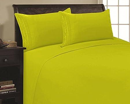 Elegant Comfort 4 Piece Ultra Soft Egyptian Quality Coziest Sheet Set, California King, Light Pink 2RW- Cali K Light Pink