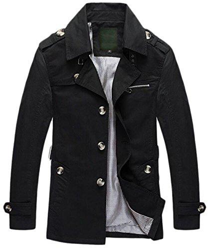 XQS Men's Premium Military Big & Tall Windbreaker Jacket ...