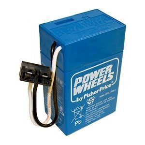 Toy / Game Fisher Price Complete 6 Volt, 4 Ah Blue Power Wheels Battery - Extend Your Batteries Life!
