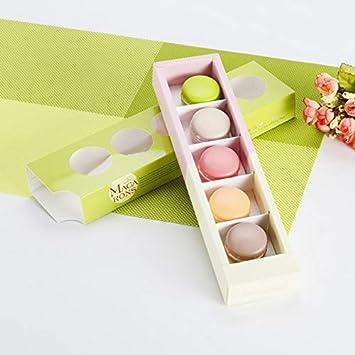 AaaSue - 10 cajas de cartón blanco de 350 g para alimentos ...