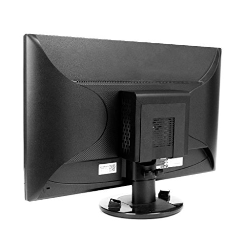 HIDEit Uni-SW VESA Mount - Adjustable Small and Wide VESA Mount for Mini Computers, CPUs, Modems, Routers and More - Made in The USA and Trusted Worldwide Since 2009