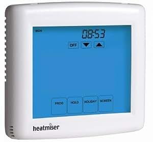 4 Zone programador de calefacción Central - Heatmiser TM4-TS