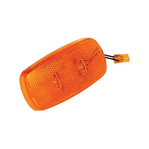 Bargman 42-59-412 Side Marker Light (LED Lens Upgrade Module - Amber)
