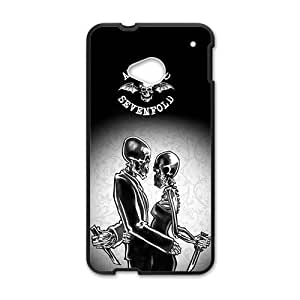 Creative Skeleton Pattern Fahionable And Popular Back Case Cover For HTC One M7
