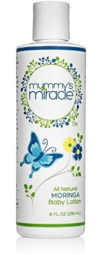 All Natural Mummy's Miracle Moringa Lotion for babies, infants and toddlers (Protectant Scented Body Lotion)