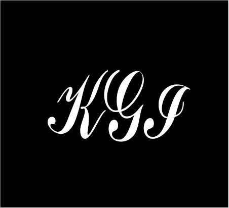 6-white-monogram-3-letters-kgi-initials-script-style-vinyl-decal-for-cup-car-computer-any-smooth-sur
