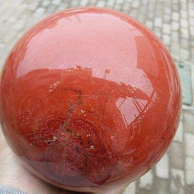 Spiritual Elementz Reiki Crystal Products Red Jasper Natural Crystal Gemstone Sphere Ball-(40-50mm).