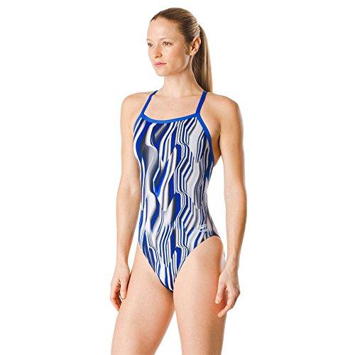 (Speedo Women's Liquid Velocity Flyback, Blue, 32)