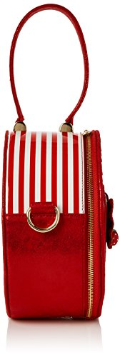 Irregular main Red portés Choice Bag Rouge Sacs Freya zwrTOUqz