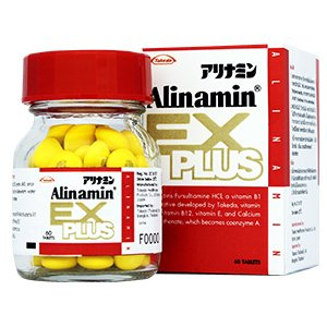 - Takeda Pharmaceutical ALINAMIN EX PLUS 60 Tablets [For relief of tired eyes, stiff shoulder, and back pain] from Japan
