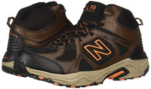 New Balance Men's 481 V3 Cushioning Trail Running Shoe, Adrift/Black/Mercury, 9.5 D US by New Balance (Image #6)
