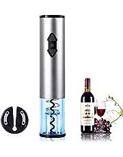 Kavydens elektrische wijnopener, automatische draadloze wijnflesopener kit met foliesnijder (batterijen niet inbegrepen)