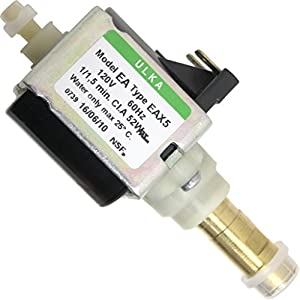 Ulka Pump Model EA Type EAX5 - 120V, 60Hz, 52W, NSF, brass output (D110) from Ulka