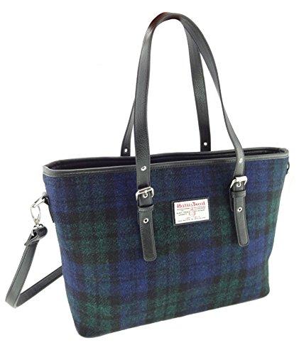 Grand sac à bandoulière Spey pour femmes authentiques de Harris Tweed dans différentes couleurs Lb1028 Col60