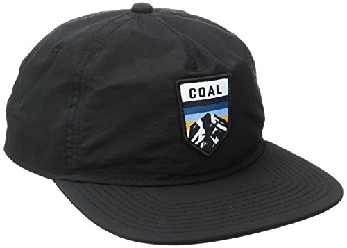 Coal Men's The Summit Cap, Black, One Size (Coal Headwear)