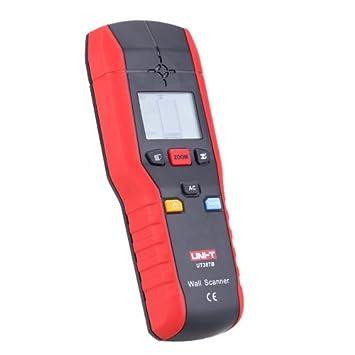 UNI-T ut387b multifuncional Handheld AC buscador de cable detector de metal madera de pared escáner: Amazon.es: Electrónica