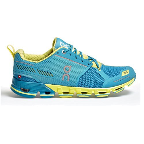 ON Cloudflyer Mani/Lemon Running, Cross Training Womens Athletic Shoes Size 7