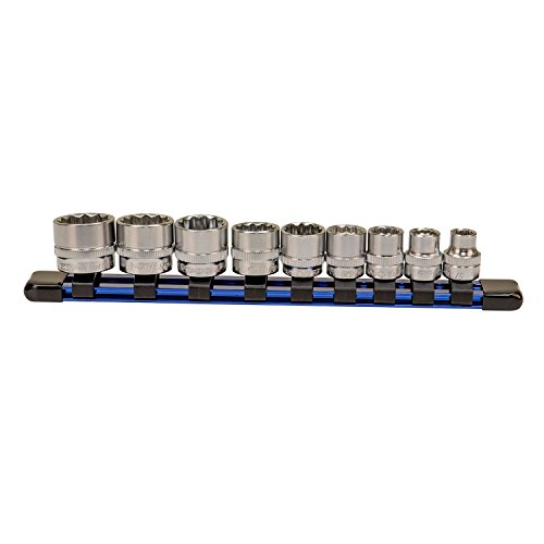 (9 Piece Low Profile Socket Set - SAE)