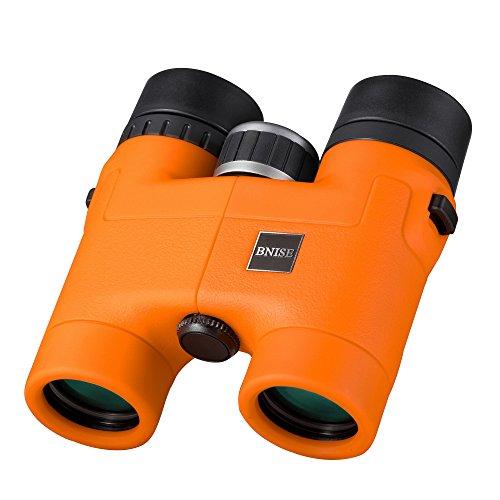 BNISE 8x32 双眼鏡 コンサート おすすめ- マグネシウム合金の本体 便利で精巧である 8倍 フィルムBAK-4光学プリズム- 明るくゆがみない画像 高倍率 ランキング コンサート ドーム オレンジ