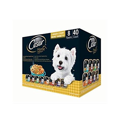 Cesar Home Delights Wet Dog Food, Variety Pack (3.5 oz, 40 ct.)