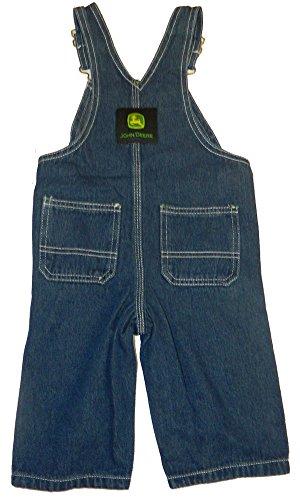 John Deere Kids Boys Soft Washed Denim Bib Overall