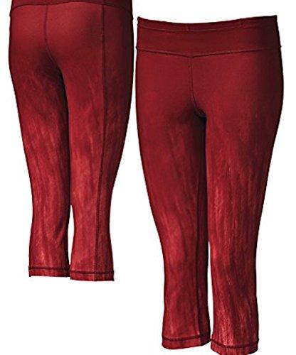 Under Armour Women's UA StudioLux Quattro Printed 20″ Capri Cardinal Red – Large For Sale