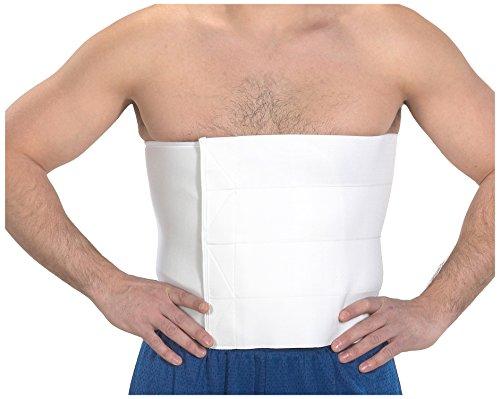 Bilt-Rite Mastex Health 12 Inch Universal Abdominal Binder, White
