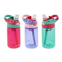 Contigo Kids Water Bottle, Pack of 3, 414 ml