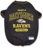 PET SHIRT for Dogs & Cats - NFL BALTIMORE RAVENS