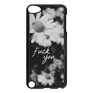 Fuck Flowers Personalized For Case Ipod Touch 4 Cover , Customized Fuck Flowers Case