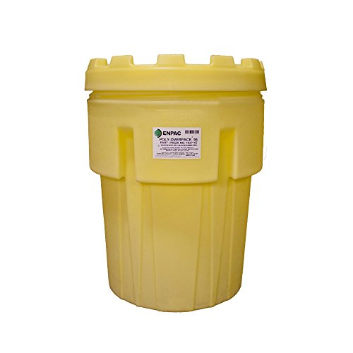 (Enpac 1037-YE Poly-Overpack Salvage Drum (95 Gallon) (Replaced 1237-YE) )