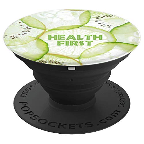 - Citrus Healthy Eating and Drinking Reminder - PopSockets Grip and Stand for Phones and Tablets