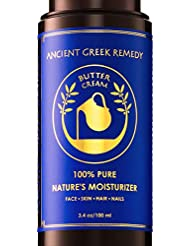 Organic Butter Cream Blend of Almond, Castor, Lavender, olive & Grapeseed oil with Vitamin E, Daily Moisturizer for dry Skin, Hair, Face, Scalp, hand, Cuticle, Beard, natural balm for Men and Women