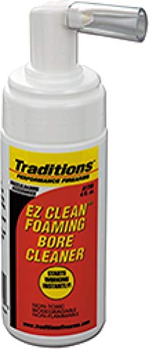 Traditions Cleaning Patches - Traditions Performance Firearms EZ Clean Muzzleloading Foaming Bore Solvent (4 -Ounce)