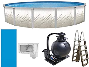 """Trendium 18' x 52"""" Pretium Above Ground Swimming Pool Package by Trendium Pools"""