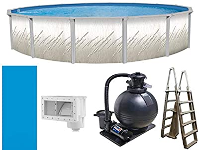 "Trendium 18' x 52"" Pretium Above Ground Swimming Pool Package by Trendium Pools"