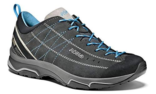 Asolo Women's Nucleon GV Graphite/Silver/Cyan Blue 7.5 B US by Asolo (Image #1)