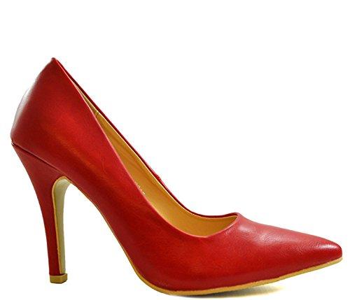 red Escarpins Red pour Shoesdays rouge femme XwOHgq
