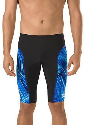 Speedo Men's Endurance Turbo Stroke Jammer, Blue, Size - Mens Swimwear Style Speedo