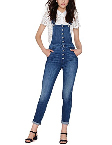 HaoDuoYi Womens Classic Overall Jumpsuit
