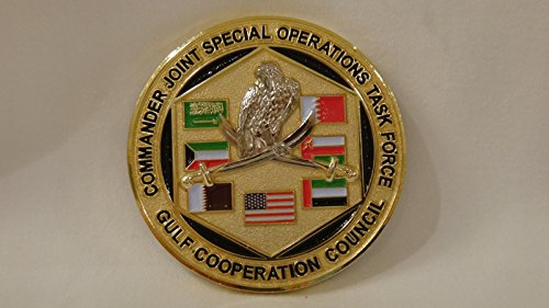 FLC Trading Naval Special Warfare JSOTF-GCC Navy Seal SWCC Challenge Coin (Coin Diver Challenge)