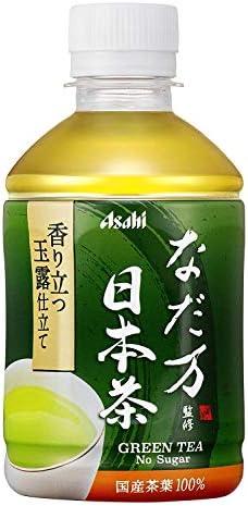 〔飲料〕 アサヒ なだ万監修 日本茶 275ml 1ケース (1ケース24本入)(280・300・350)(お茶)(PET・ペット)