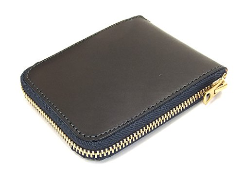 Barns Outfitters Men's Casual Zip Around Leather Short Wallet LE-3018 (One-Size, Dark Navy Blue) by BARNS outfitters