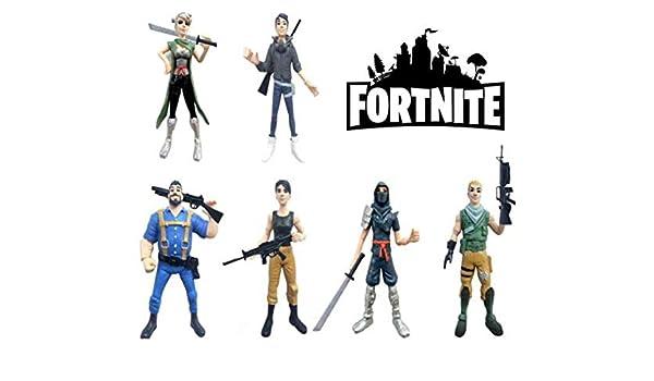 ARUNDEL SERVICES EU Fortnite 6 Figuras de acción Personajes Fortnite Fortnite Battle Royale Fortnite: Amazon.es: Bebé