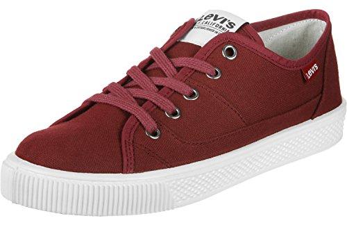 para Levi'S Malibu Hombre Zapatillas Rojo qwOaPw