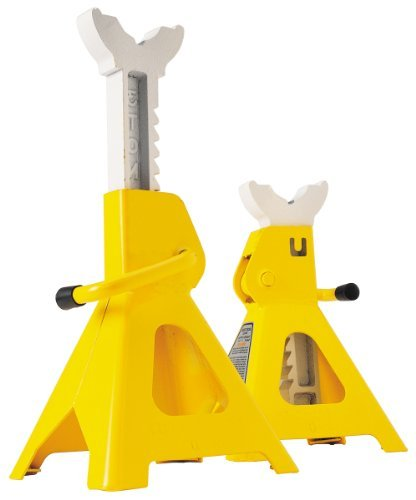 Performance Tool W41022 3 Ton (6,000 lbs.) Capacity Heavy Duty Jack Stand Set by Performance Tool