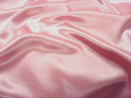 Pink Crepe Back Satin - 7
